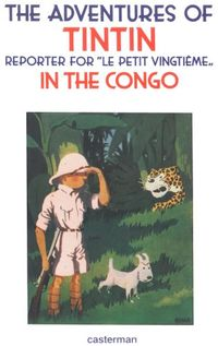 Gouche Cover, Tintin in the Congo