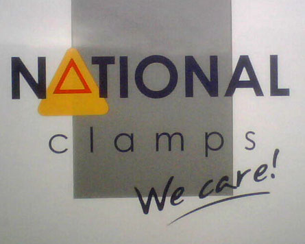 The logo for National Clamps