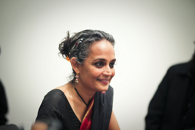 Arundhati Roy. Photo by jeanbaptisteparis on Flickr