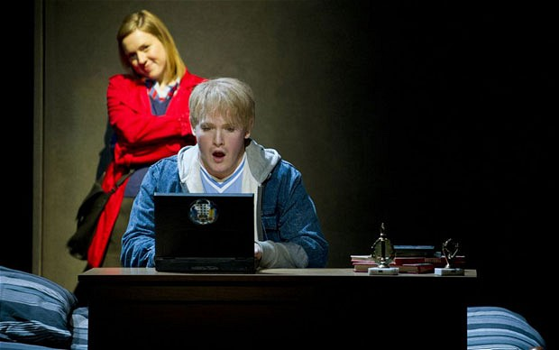 Mary Bevan and Nicky Spence in Two Boys Photo: Richard Hubert Smith
