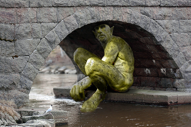 Troll, by Doug Wildman on Flick