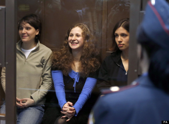 Pussy Riot in the dock