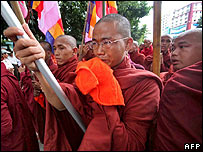 Rangoon monks
