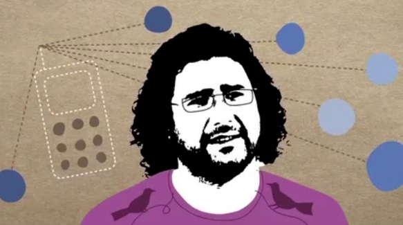 Alaa Abd El-Fatah, Technologist, Egypt. Animation by Toby Newsome
