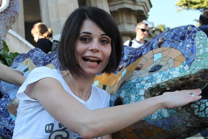 Jalena Lecic, whose photos were stolen and posted on the 'Gay Girl In Damascus' site