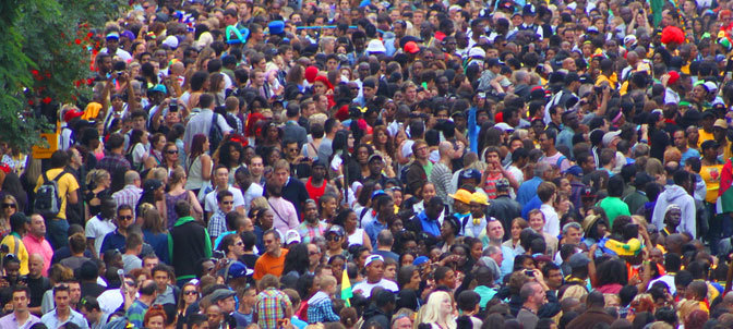 The Colour of the Notting Hill Carnival