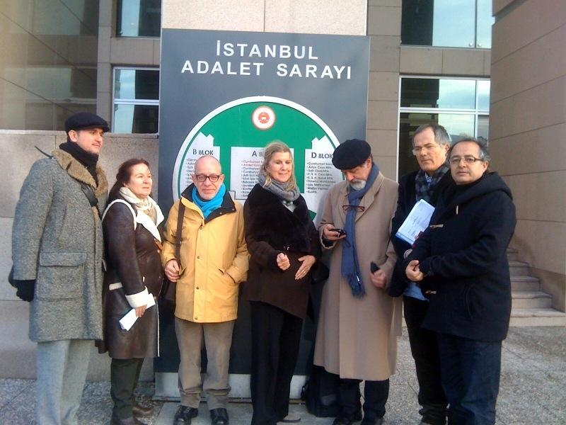 PEN Turkey at the Istanbul Prosecutor's Office