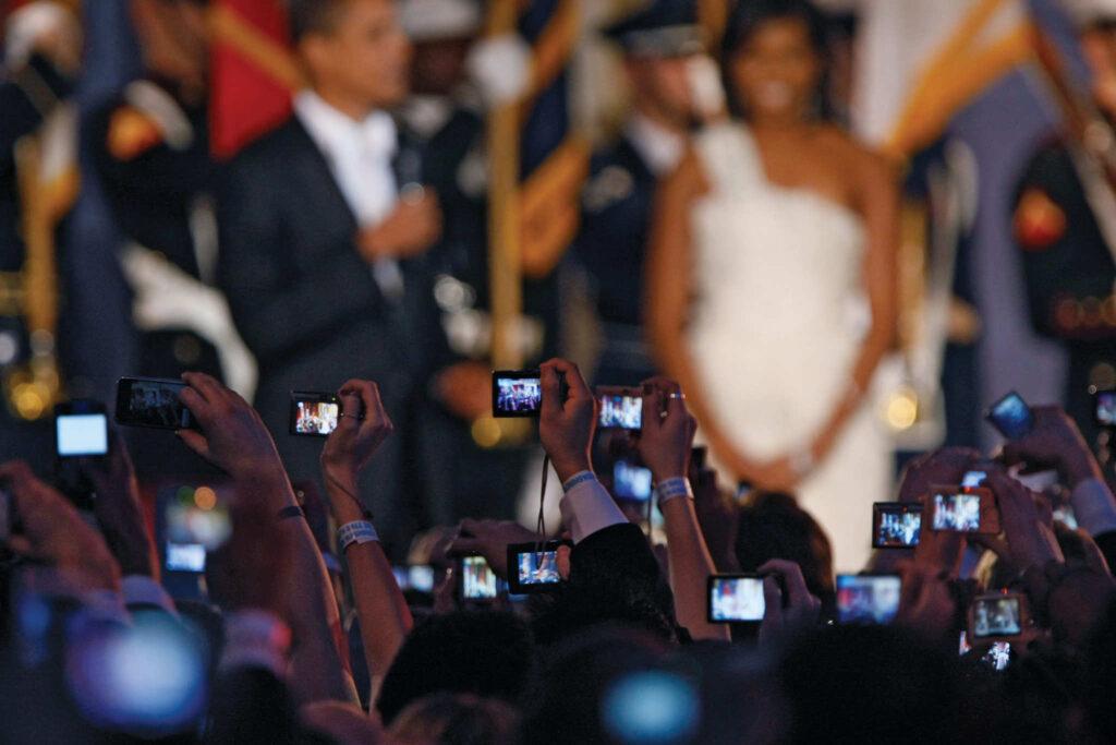 Inauguration party, 2009.  Chicago Tribune/MCT