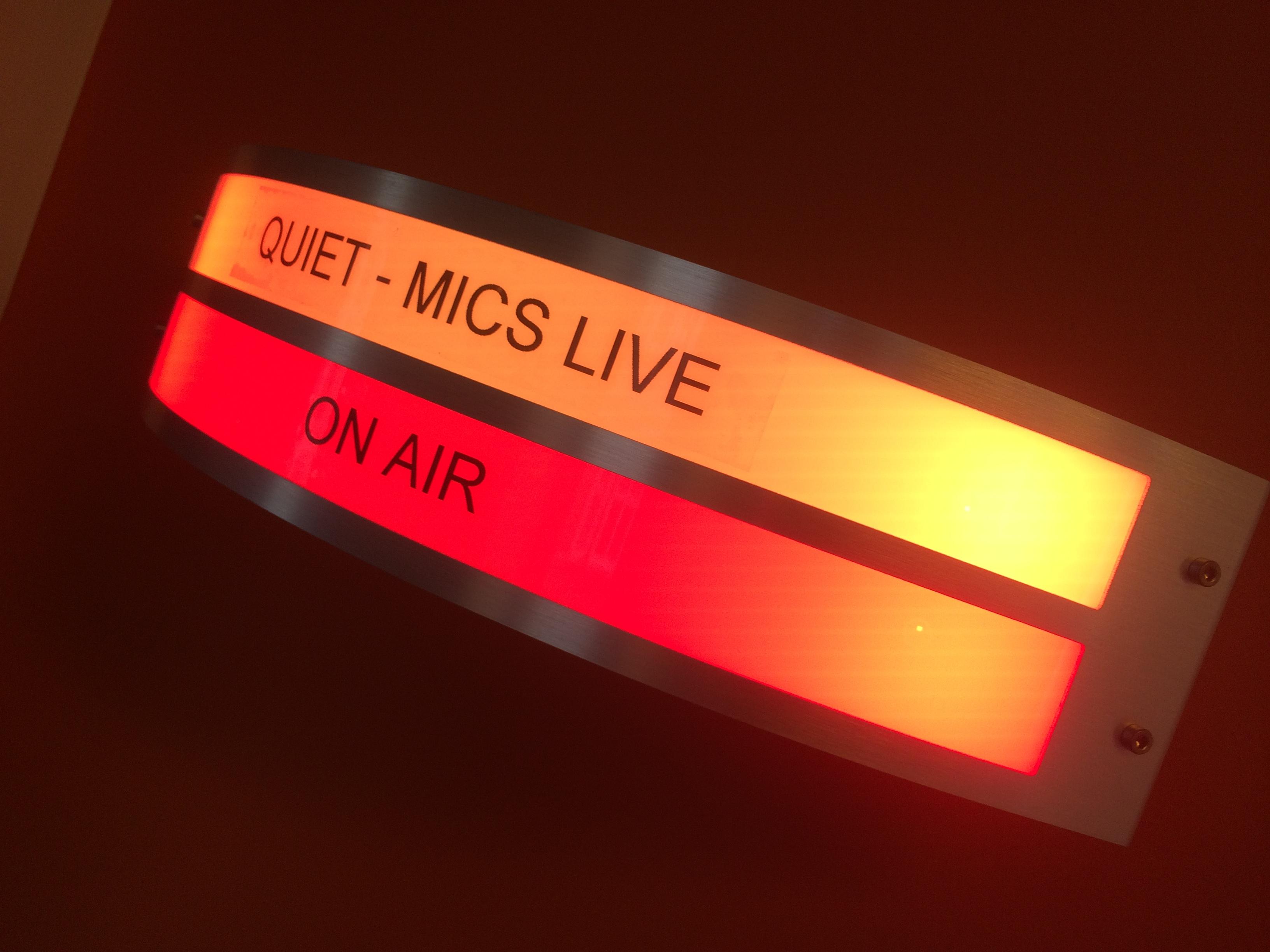 Quiet Mics Live On Air