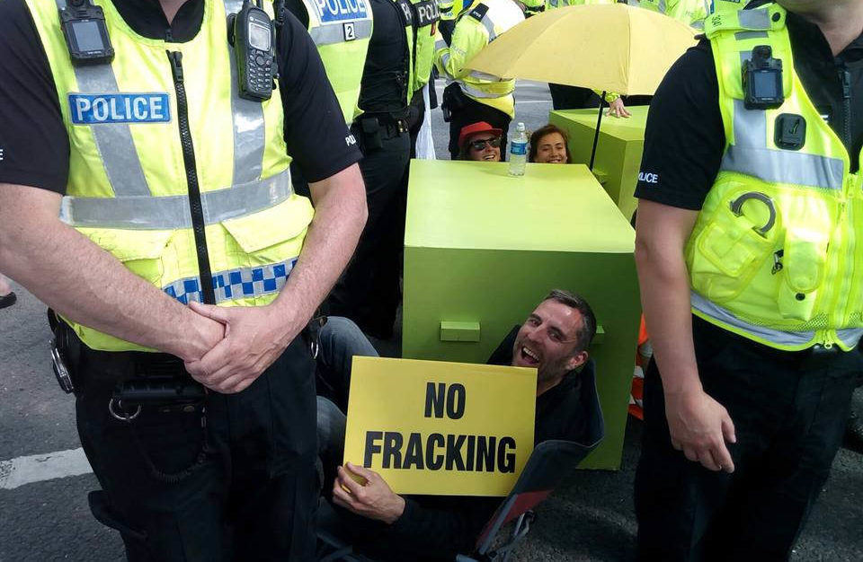 Families Against Fracking, July 2017