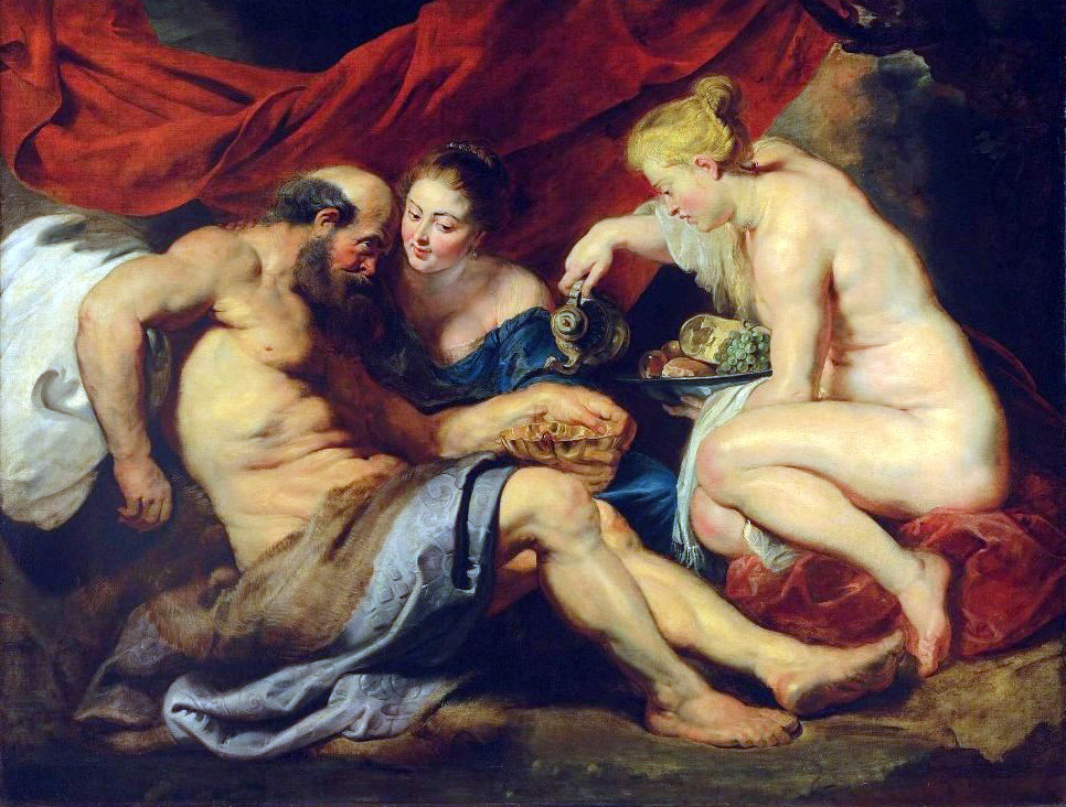 'Lot and his Daughters' by Oeter Paul Rubens