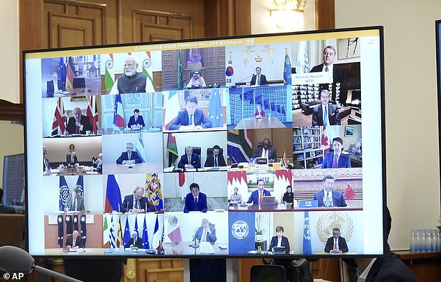 World Leaders Video Conference Call, 26 March 2020