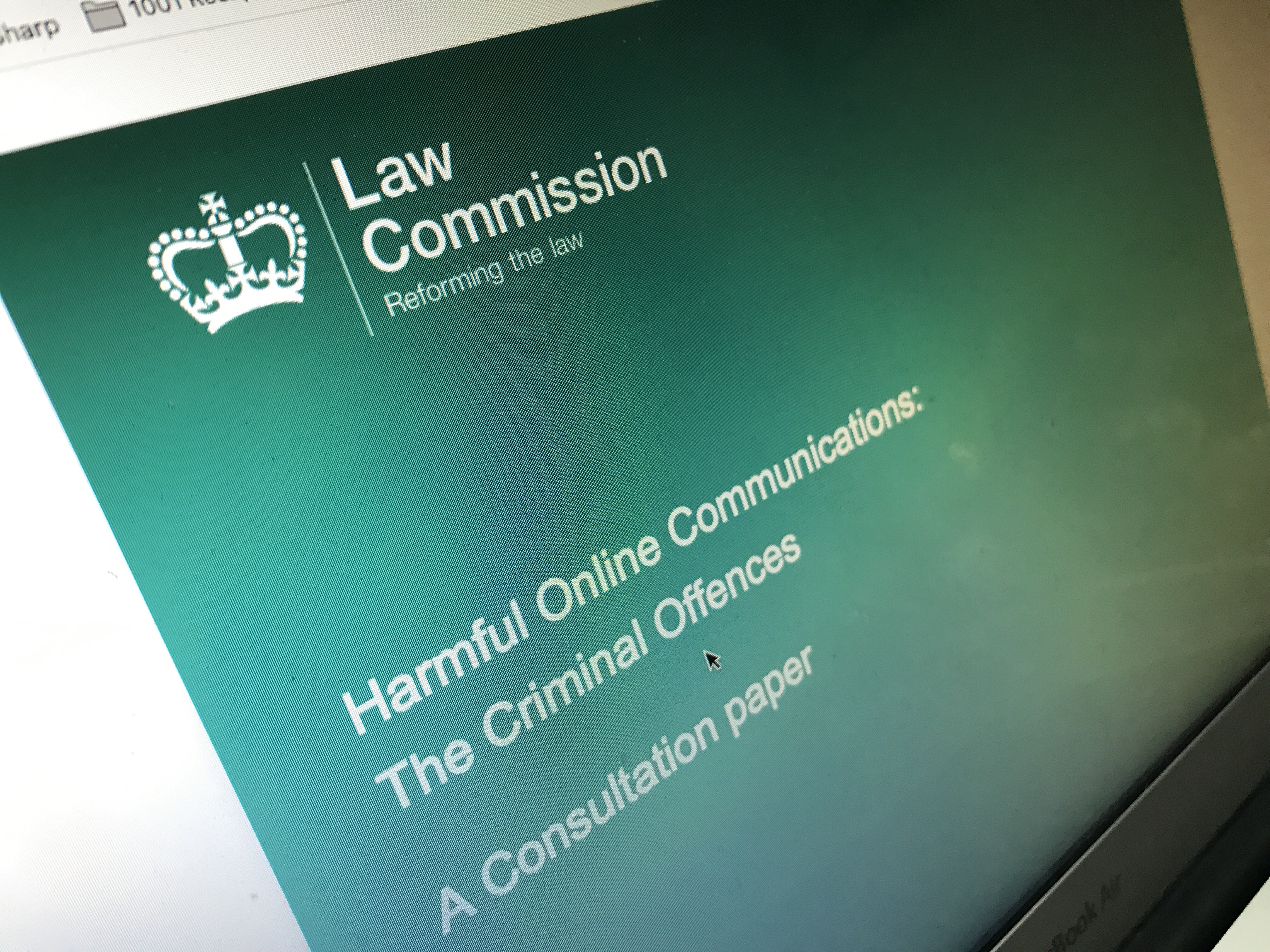 Law Commission Consultation document